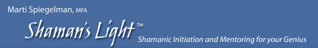 shamans light header image